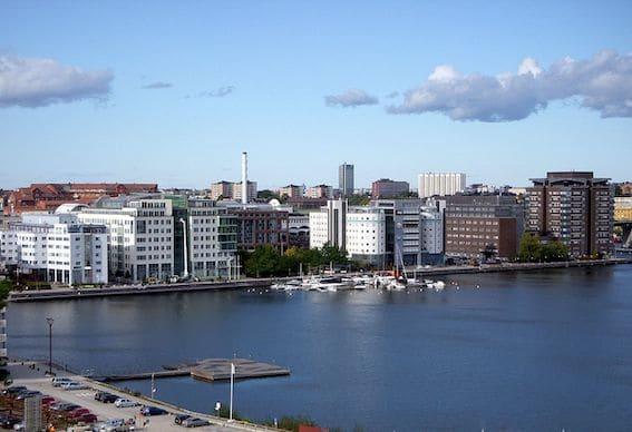 Liljeholmen i Stockholm